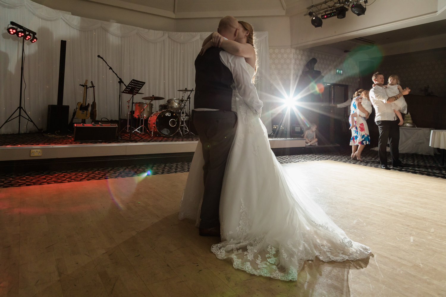 Wedding photography at old raven field church and pastures lodge